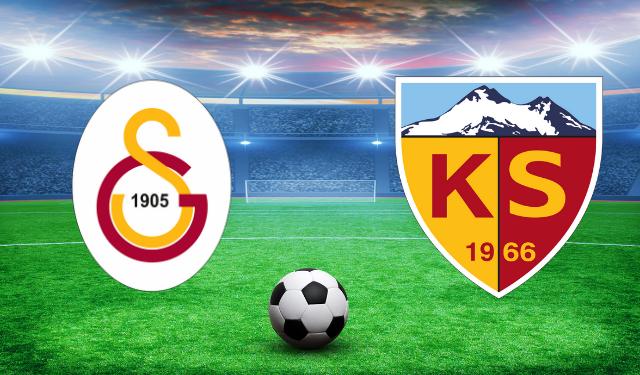 Galatasaray, Kayserispor maçı hazırlıklarına başladı